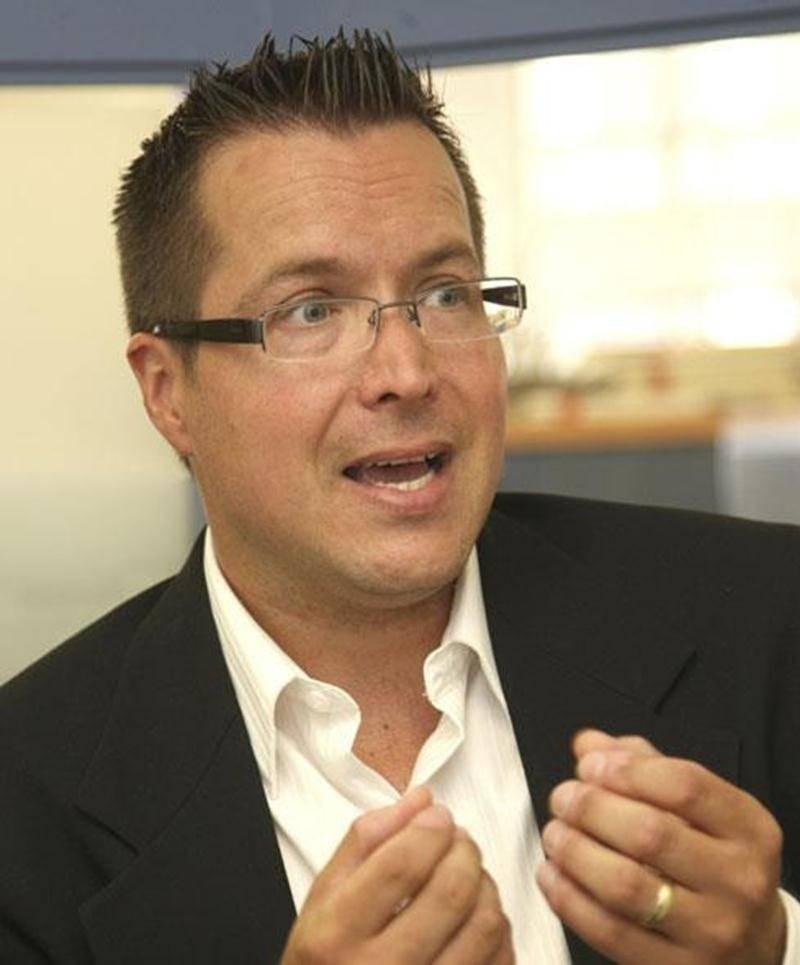 Jérôme Saint-Amand, candidat pour Option nationale