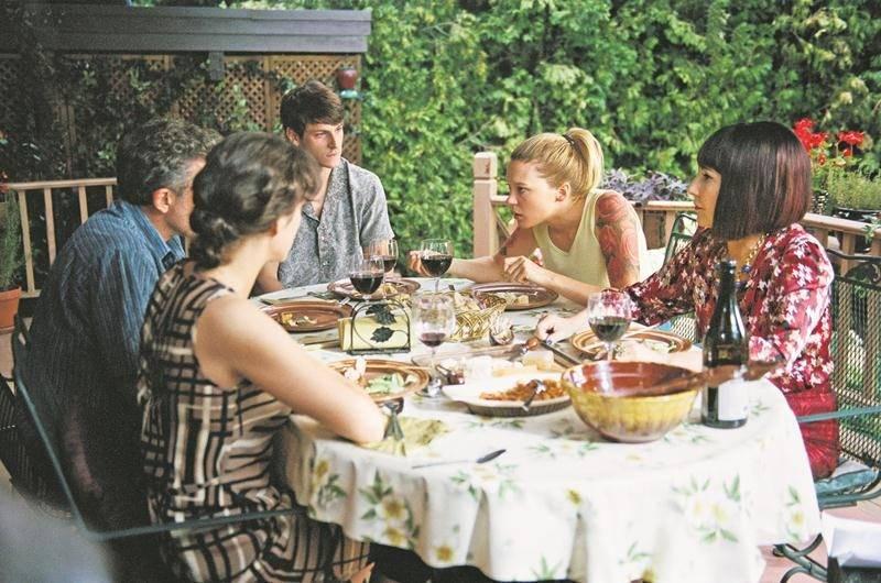 Houleuse réunion de famille
