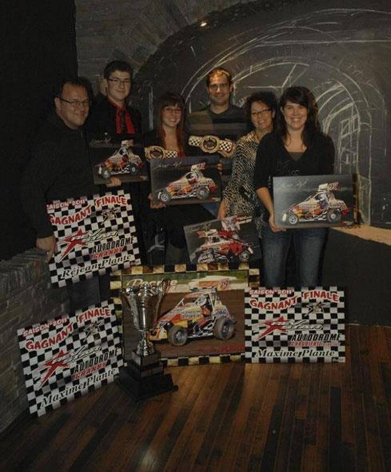 La famille Plante a connu une première saison prometteuse dans la série de course automobile REVSTAR.