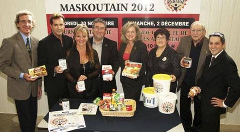 Les membres du comité organisateur du <em>Grand Partage Maskoutain</em>.