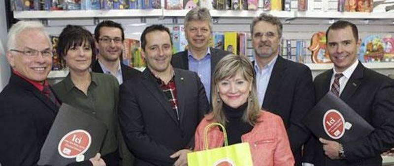 La Chambre de commerce et de l'industrie Les Maskoutains a procédé au lancement du Concours Passion Détail à la librairie Solis des Galeries St-Hyacinthe.