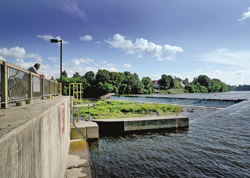 Le débit d'eau réservé à la rivière Yamaska à l'entrée de la centrale devra demeurer d'au moins 9 m3/s du 1er juillet au 7 septembre.  Photothèque | Le Courrier ©