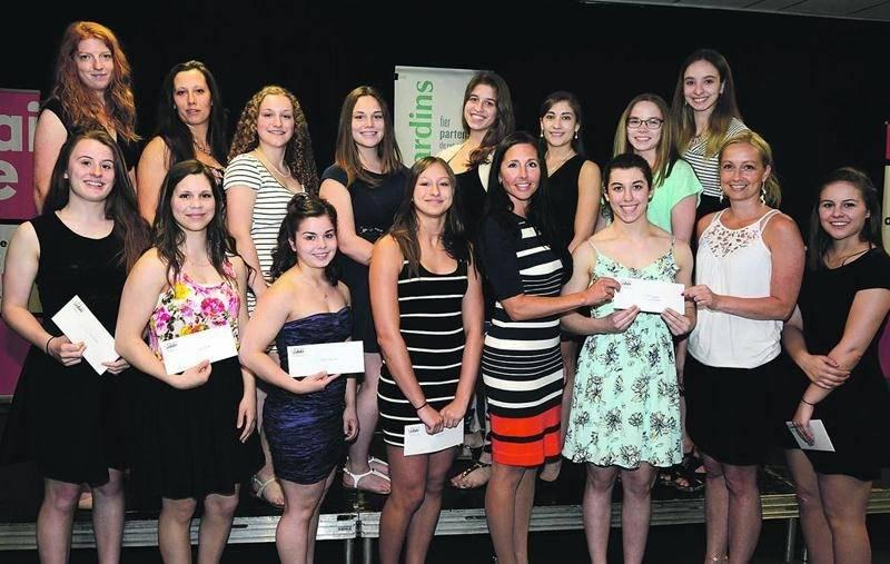 Tali Darsigny a remporté pour une troisième année consécutive la catégorie Argent chez les filles.