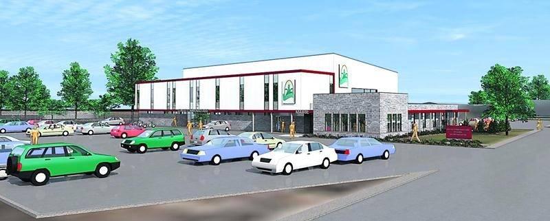 Si elle est construite, la nouvelle mairie avec centre communautaire sera réalisée selon les plans du bureau d'architectes Boulianne Charpentier.