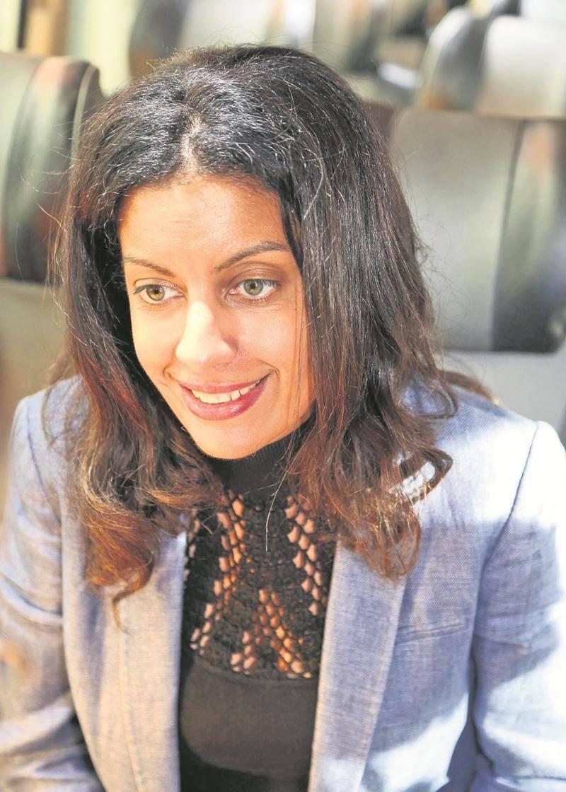 La vice-première ministre du Québec et ministre de l'Économie, Dominique Anglade, en entrevue au COURRIER. Photo Robert Gosselin | Le Courrier ©