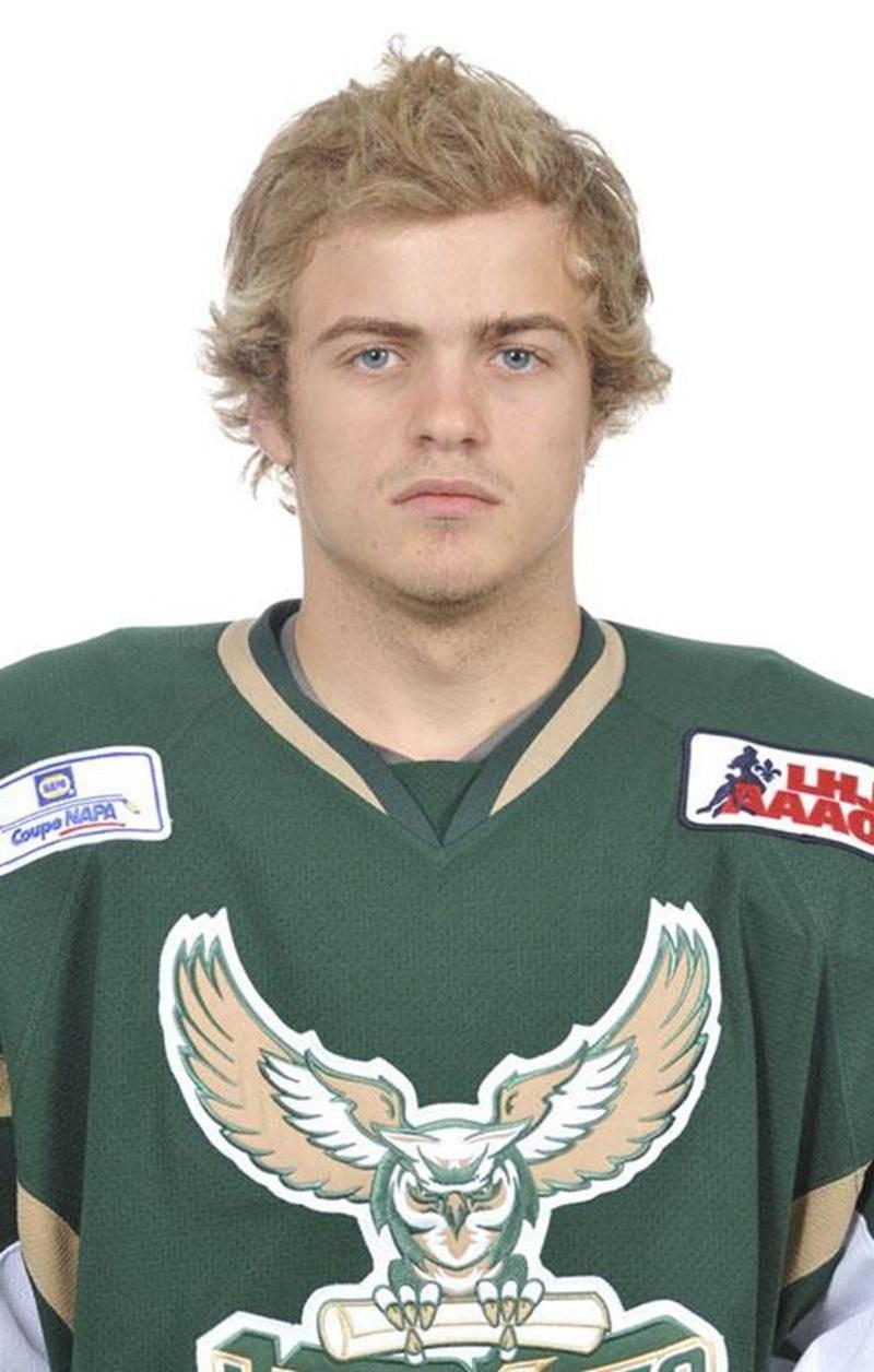 Alexis Guilbault, meilleur pointeur des Lauréats, poursuivra sa carrière avec les Capitals de Cowichan Valley dans la BCHL.