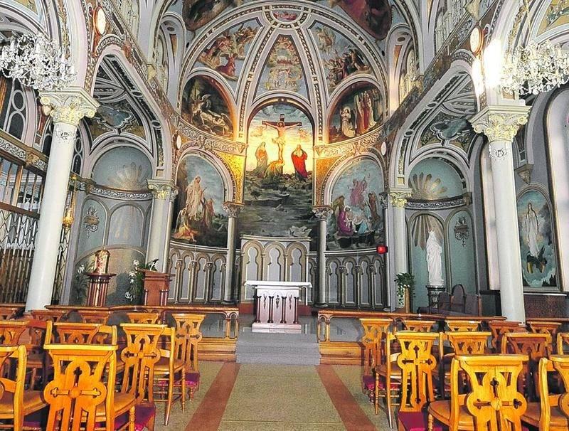La chapelle du monastère du Précieux Sang abritera d'ici peu l'Opus 9 de Casavant Frères, de même qu'une exposition permanente sur le facteur d'orgues. Photo François Larivière | Le Courrier ©