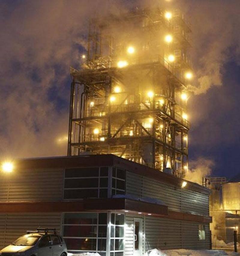 L'usine de recyclage des huiles usées, propriété du géant français Veolia, est située sur l'avenue Pion à Saint-Hyacinthe.