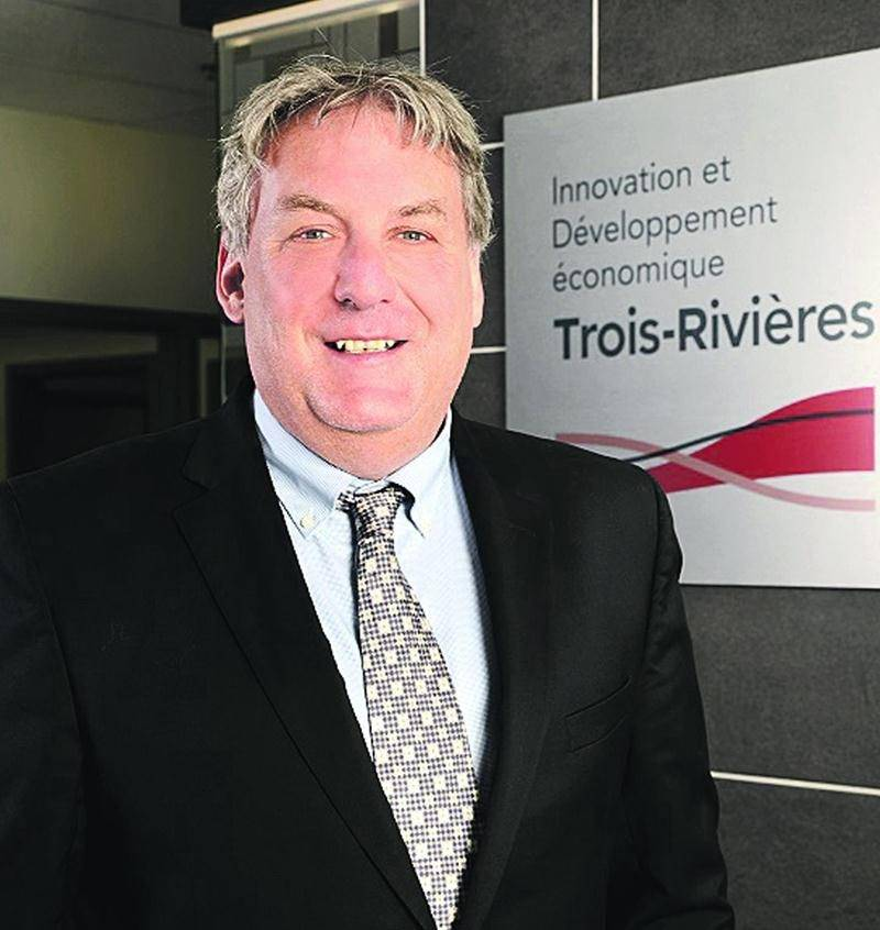 L'ancien directeur général du CLD Les Maskoutains, Mario De Tilly, est le nouveau DG d'Innovation et Développement économique de Trois-Rivières. Photo Daniel Jalbert