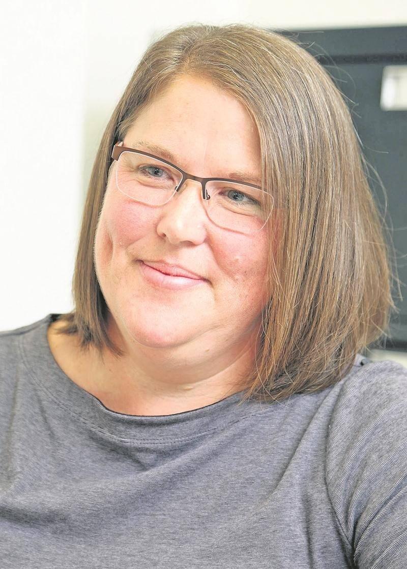 Stéphanie Messier, candidate dans le district Saint-Joseph. Photo Robert Gosselin | Le Courrier