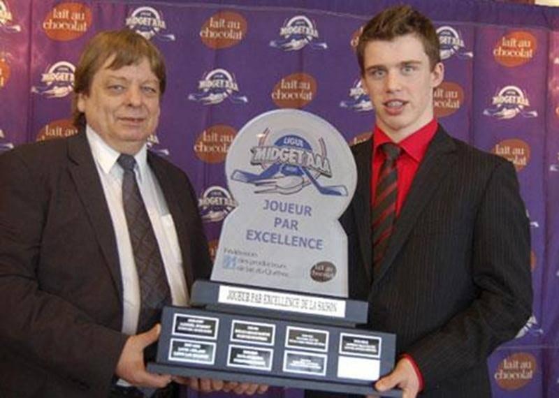 Anthony Beauvillier est le joueur par excellence de la Ligue de hockey midget AAA du Québec.