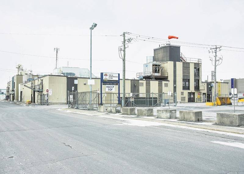 Les quelque 70 employés syndiqués qui se chargeront du fondoir et de l'entrepôt à l'usine Olymel de Saint-Hyacinthe disposent maintenant d'une convention collective d'une durée de huit ans.  Photothèque | Le Courrier ©