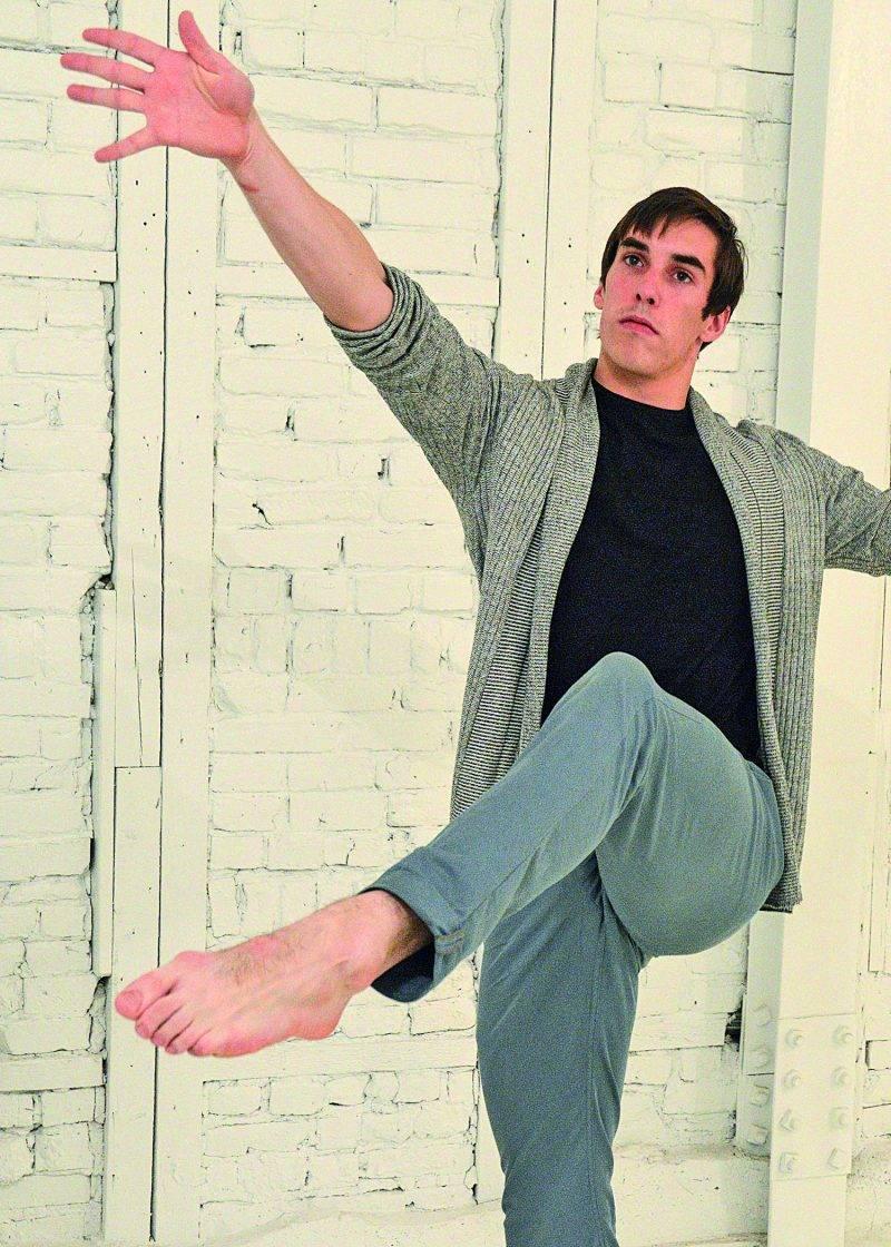 Danny Morissette est souvent considéré comme un modèle masculin par ses jeunes élèves. Photo François Larivière | Le Courrier ©