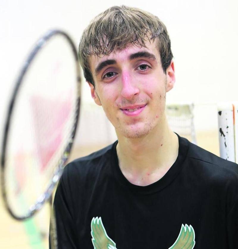 Félix-Antoine Vadnais est le grand favori en vue du championnat régional individuel de badminton collégial. Photothèque | Le Courrier ©