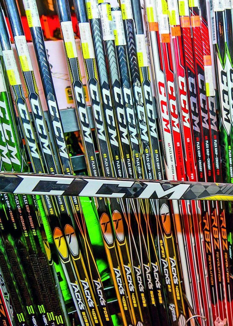 Propriétaire du Groupe Maskatel, le fonds d'investissement torontois Birch Hill Equity Partners met la main sur le fabricant d'équipement de hockey CCM. Photo François Larivière   Le Courrier ©
