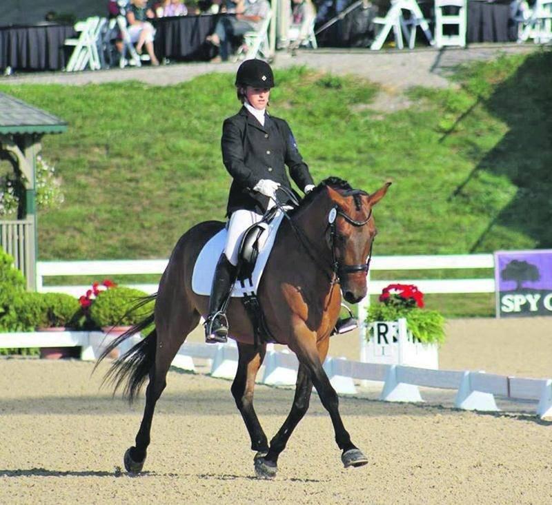 Béatrice avait obtenu un top 10 au Championnat nord-américain pour junior et jeune cavalier en 2013. Photo Courtoisie