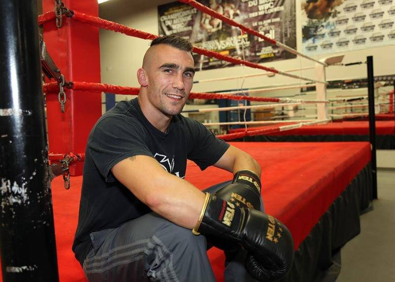 Michaël Gadbois a disputé une vingtaine de combats chez les professionnels et plus de 80 chez les amateurs au cours de sa carrière. Photothèque | Le Courrier ©