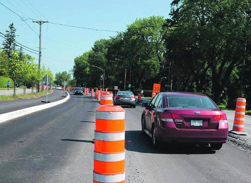 La circulation sur le boulevard Laurier Ouest sera maintenue dans les deux directions malgré les travaux, assure la Ville. Photo François Larivière   Le Courrier ©