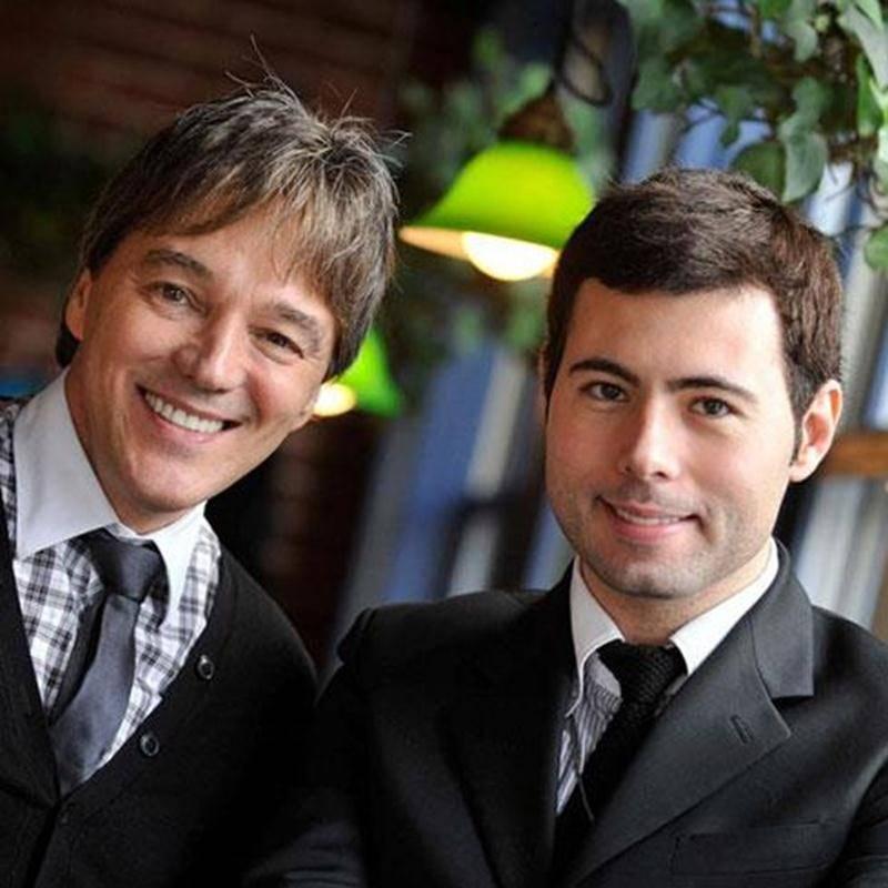 Richard Abel et Corneliu Montano invitent les amateurs de musique de Noël au concert <em>Elegancia</em> du 23 novembre.