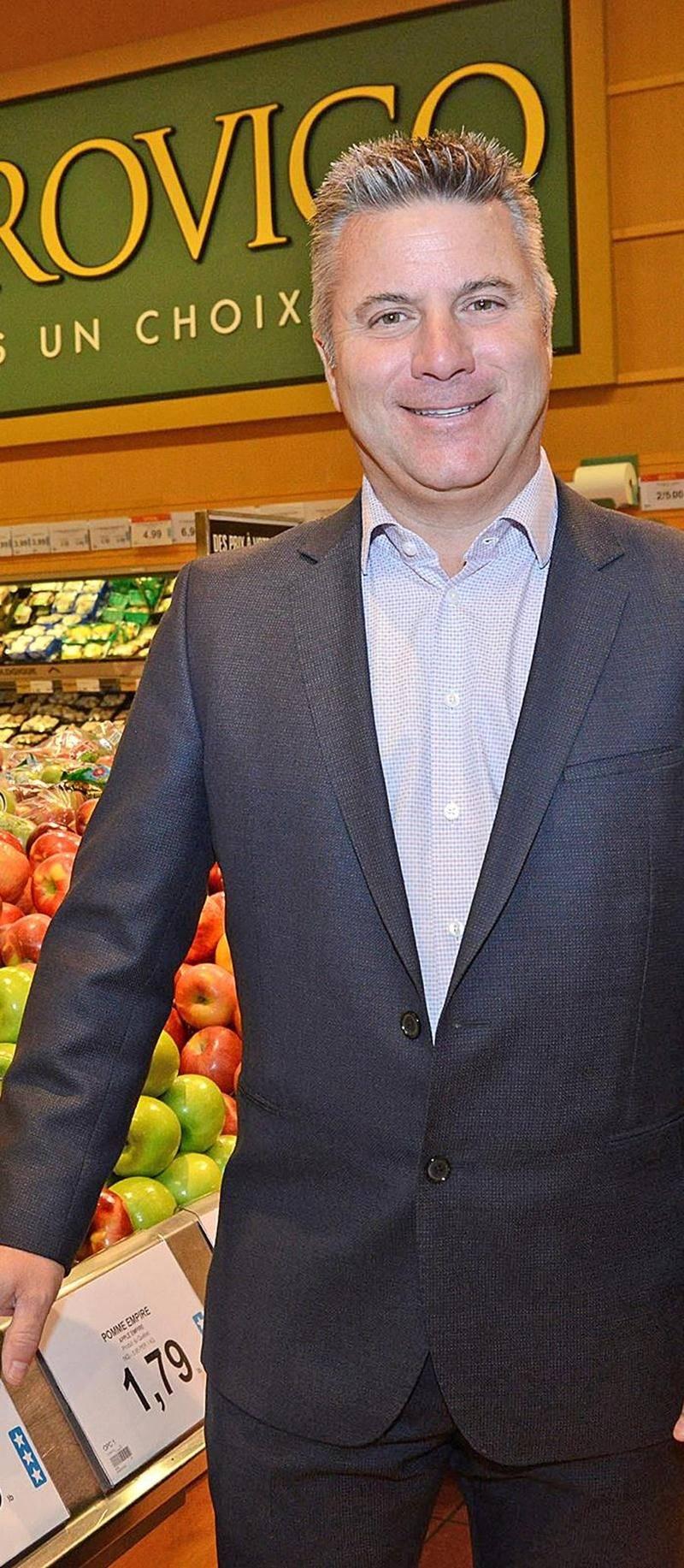 Sylvain Jodoin, directeur de groupe chez Provigo. Photo François Larivière | Le Courrier ©