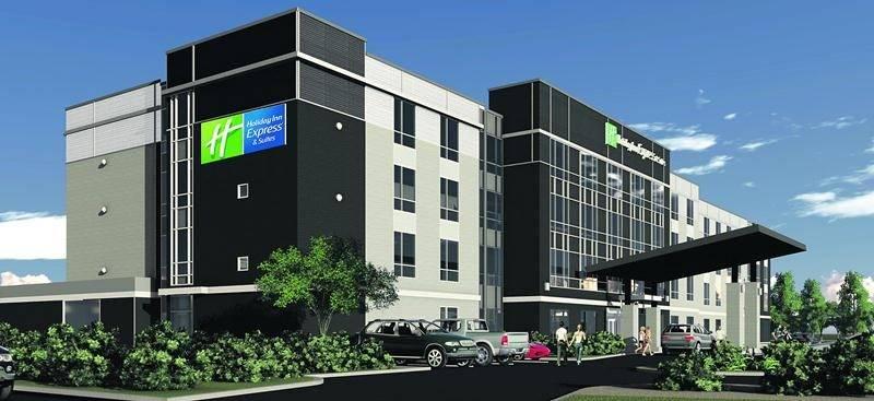 Sans être une copie conforme, le nouveau Holiday Inn Express & Suites de Vaudreuil-Dorion sera fortement inspiré de celui de Saint-Hyacinthe.