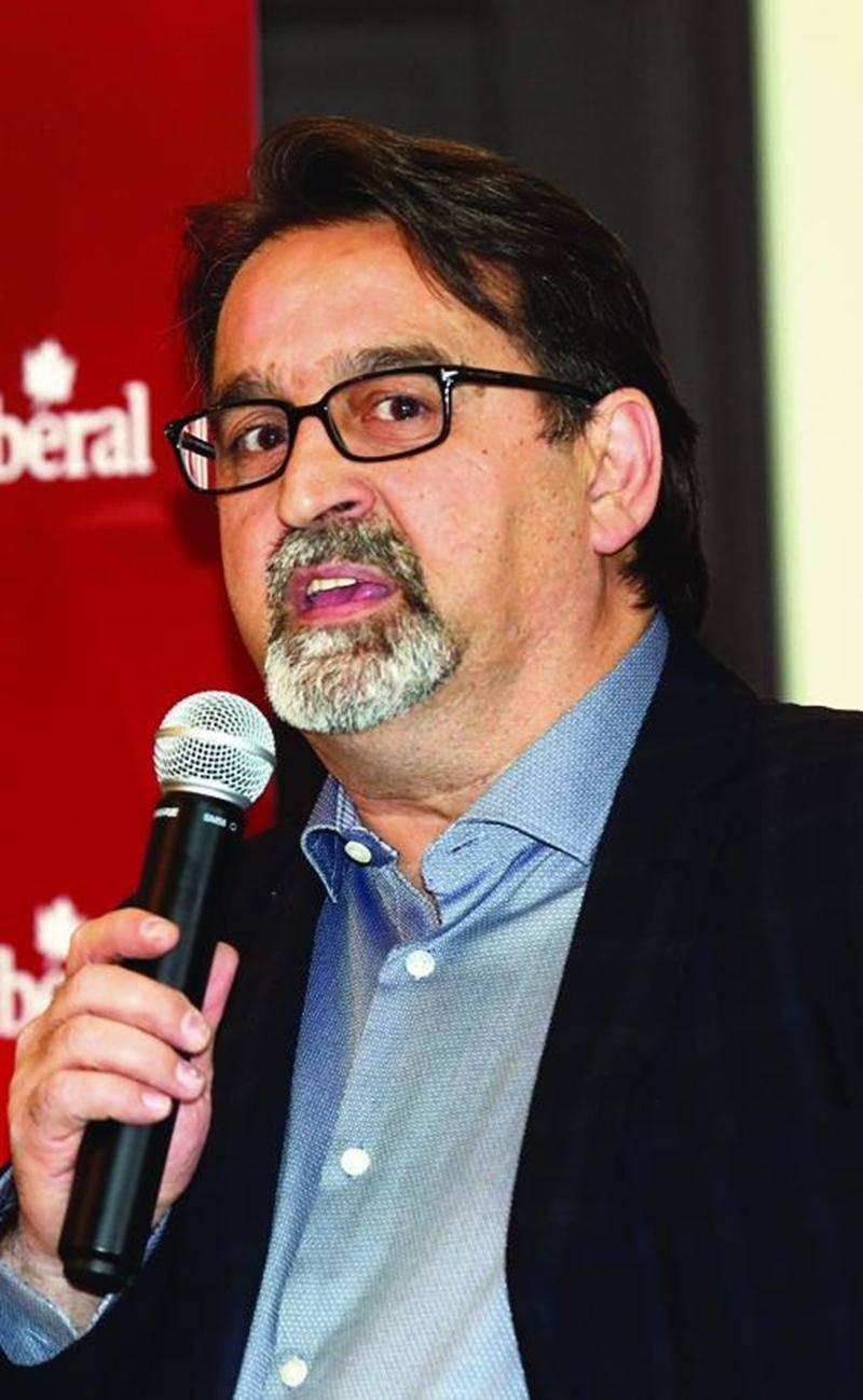 René Vincelette a remporté l'investiture libérale dans le comté et devient ainsi le candidat du parti aux prochaines élections fédérales.  Photo Robert Gosselin | Le Courrier ©