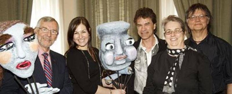 Pour la 6 e édition des Grands Délires Créatifs, trois représentations d'un spectacle de marionnettes (comme celles sur la photo) seront offertes.