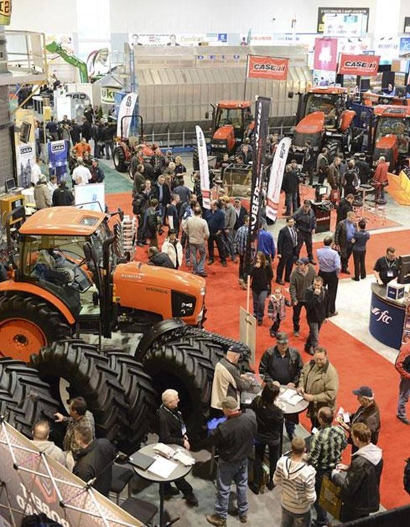 Le Salon de l'agriculture permet entre autres de découvrir les dernières innovations en matière de machinerie.