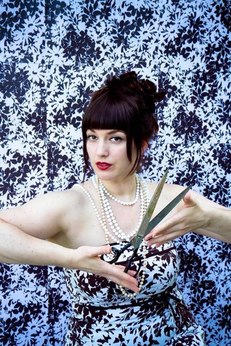 L'artiste multidisciplinaire Roxane Chamberland.