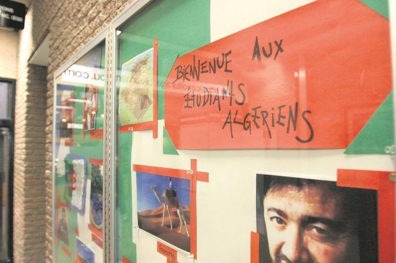 En 2006, le Cégep de Saint-Hyacinthe avait déroulé le tapis rouge à des étudiants étrangers pour relancer sa formation en textile. Photothèque   Le Courrier ©