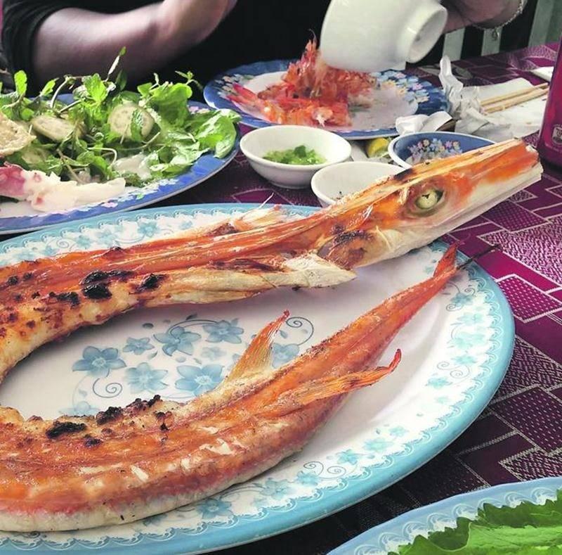 Vaut mieux ne pas manger avec ses yeux au Vietnam, car on risque de passer à côté de saveurs délicieuses, comme celles qu'offre ce poisson-serpent. Photo courtoisie