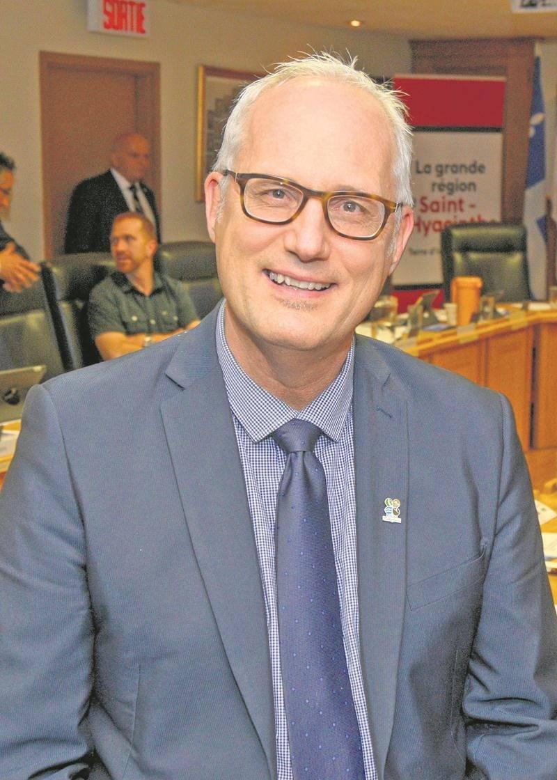 André Charron, directeur général de la MRC des Maskoutains.   Photo François Larivière | Le Courrier ©
