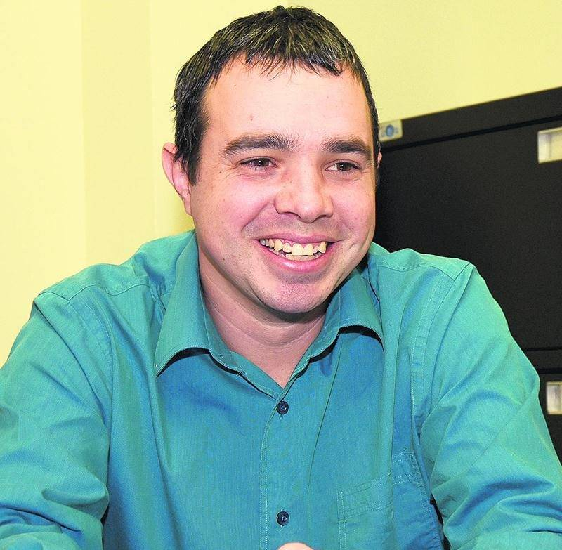 Frédéric Brillon, candidat à l'élection partielle dans le district Saint-Sacrement. Photo François Larivière | Le Courrier ©