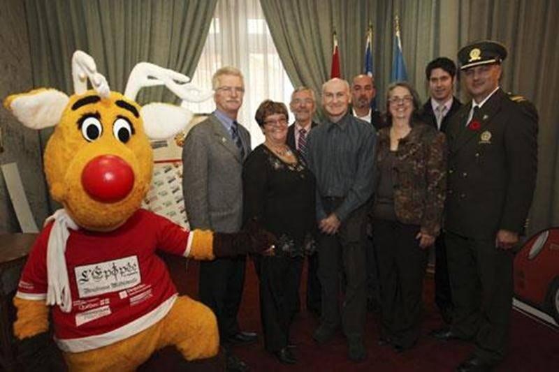Les grandes lignes de l'Opération Nez Rouge 2011 à Saint-Hyacinthe ont été dévoilées récemment en présence de tous les partenaires impliqués.