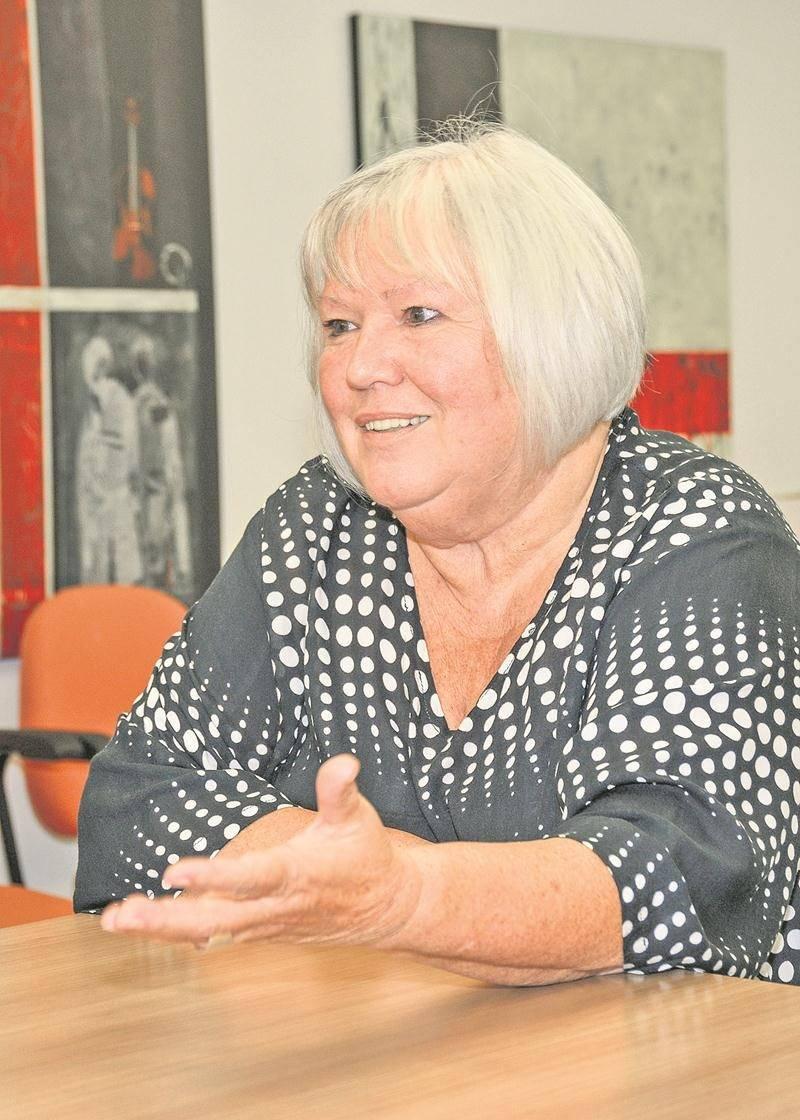 Claire Gagné, candidate dans le district Bois-Joli.   Photo François Larivière | Le Courrier ©