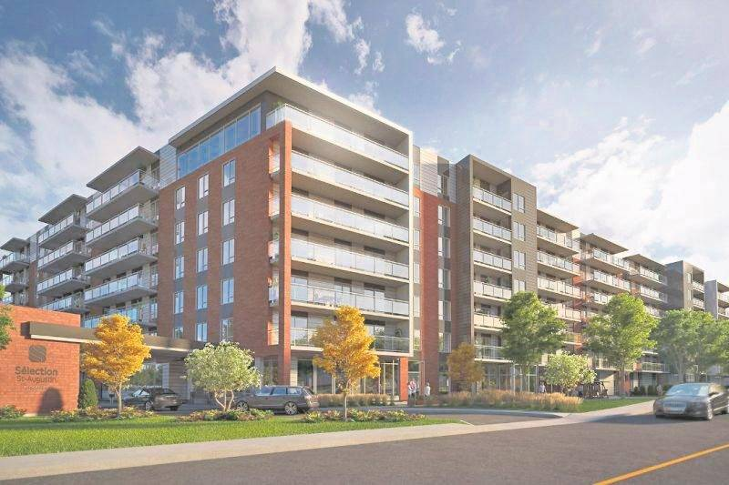 En février, Réseau Sélection a procédé à la mise en chantier du Sélection Saint-Augustin (photo) dans la région de Québec, une résidence de 277 unités sur sept étages représentant un investissement de 60 M$. Le Sélection Beloeil prévoit 394 unités dans deux bâtiments de 10 étages.