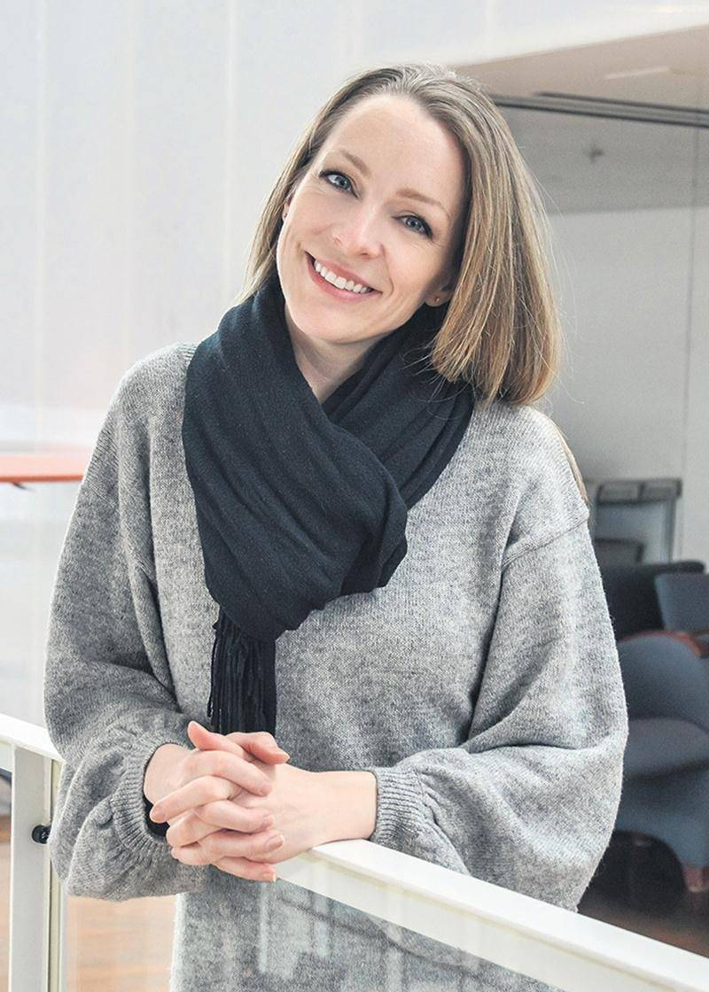 Annie Villeneuve sera au Centre des arts Juliette-Lassonde le 9 mars pour présenter son plus récent spectacle. Photo François Larivière | Le Courrier ©