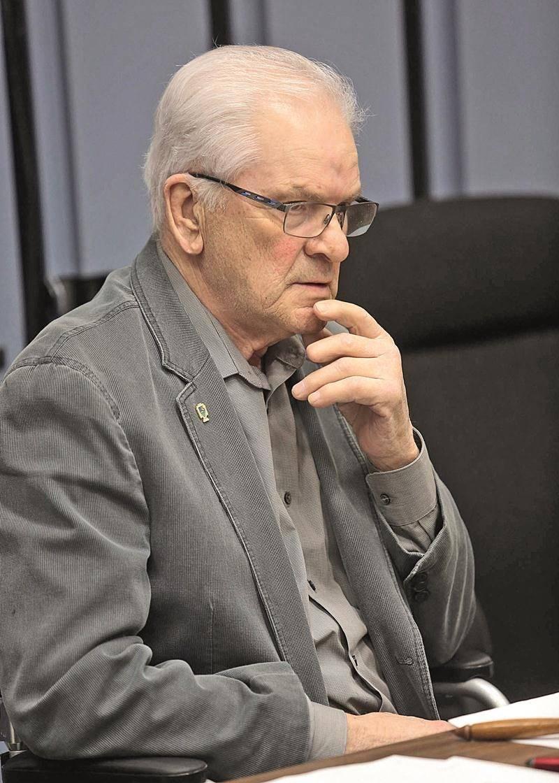 Le maire de Sainte-Marie-Madeleine, Simon Lacombe. Photothèque | Le Courrier ©