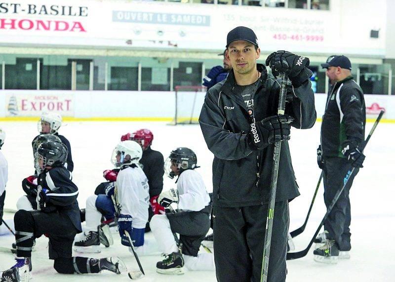 Bruno Gervais a décidé d'accrocher ses patins après plus de 13 saisons dans le hockey professionnel. Photo Robert Gosselin | Le Courrier ©