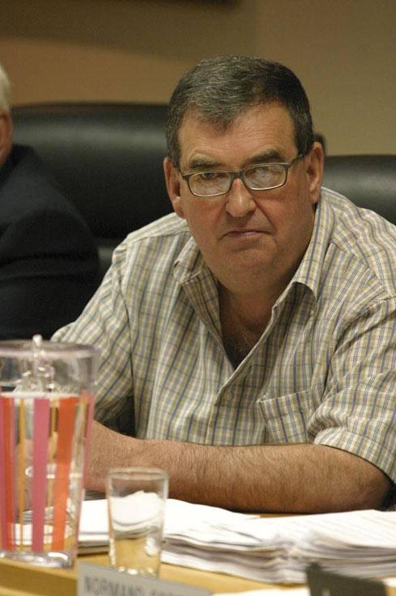Claude Roger, maire de La Présentation.