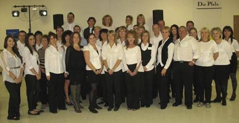 L'équipe de bénévoles de l'édition 2012