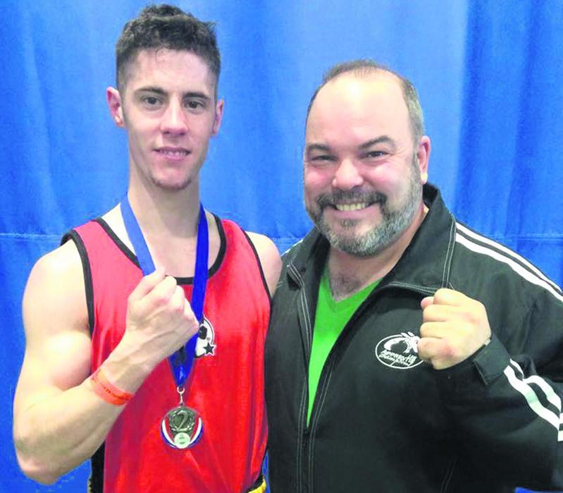 Jacob Cloutier a remporté un combat à la Coupe Impérium avant de s'incliner en finale. Photo Facebook