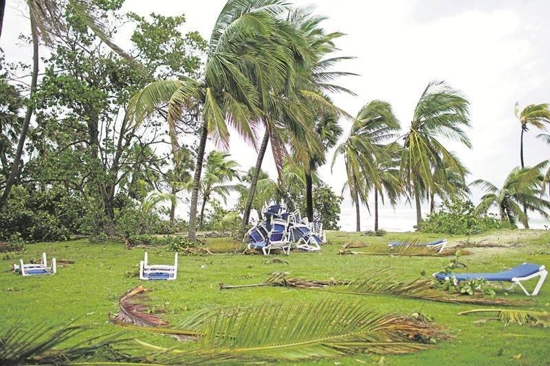L'aéroport de Cayo Coco et plusieurs hôtels du secteur ont été sévèrement endommagés après le passage de cet ouragan surnommé « le monstre ». Photo Reuters / Alexandre Meneghini