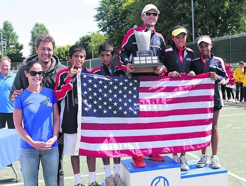 La délégation américaine a remporté une sixième Coupe Le Blanc au cours de la fin de semaine. Photo Robert Gosselin | Le Courrier ©