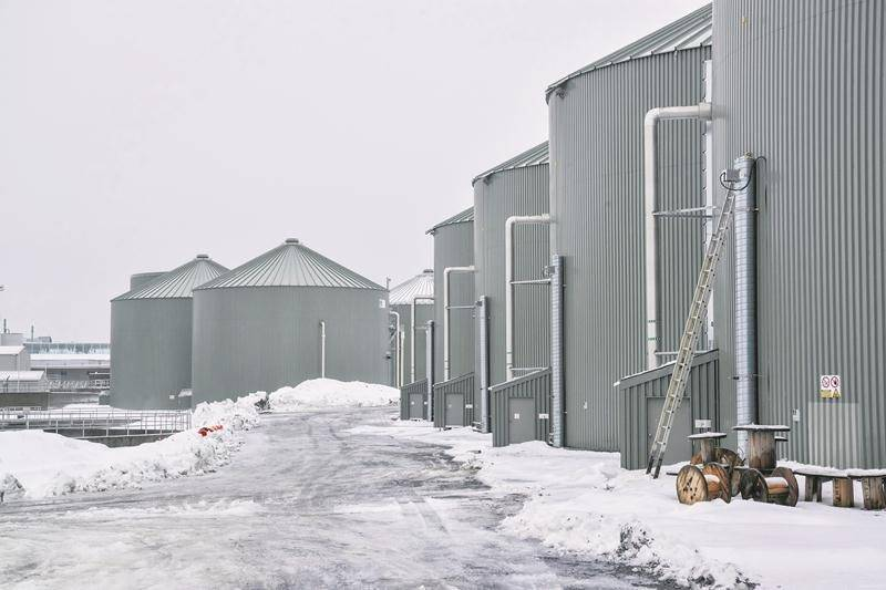 Le mois de décembre 2017 a permis à la Ville de Saint-Hyacinthe de tester la production et l'injection de biométhane dans le réseau d'Énergir. Les grands froids ont toutefois causé quelques arrêts de production durant les premières semaines d'opérations, a indiqué Louis Bilodeau.   Photo François Larivière | Le Courrier ©