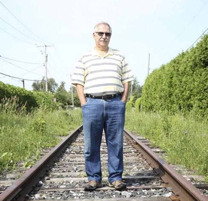 La semaine dernière, Serge Gladu dénonçait le manque d'entretien de la voie ferrée appartenant à la MMA.