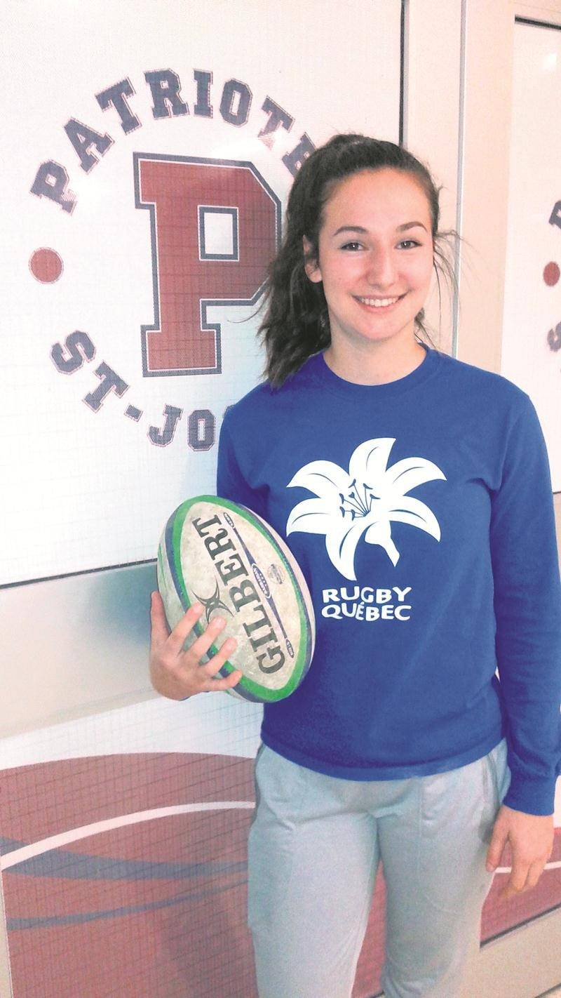 Après une saison avec les Patriotes de l'ESSJ, Mérédith Lavallée s'est taillé une place au sein de l'Équipe Québec des moins de 18 ans.