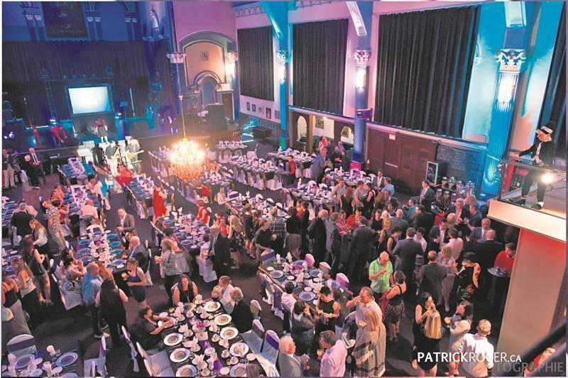 En 2016, la soirée Passion Détail avait rassemblé 224 convives à la salle Théâtre La Scène.   Photothèque | Le Courrier ©