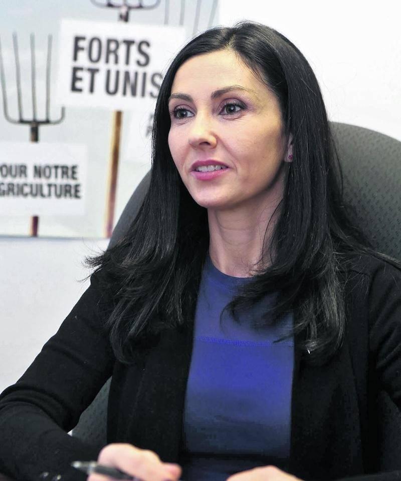 Chantal Soucy a débouté les députés péquistes en visite à Saint-Hyacinthe la semaine dernière concernant le bilan de son mandat depuis 2014. Photothèque Le Courrier ©