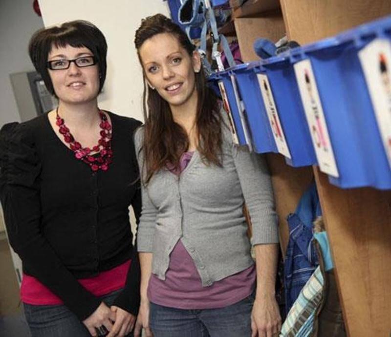 La garderie de Sabrina Messier et Marie-Michèle Guénette, à Saint-Simon, est exclue d'emblée du processus d'attribution de 15 000 nouvelles places à 7 $.